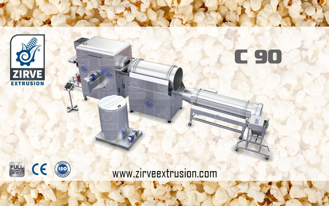 pop corn production line