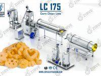 LC175 - خط انتاج شيبس الذرة