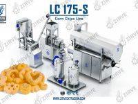 LC175-S خط انتاج شيبس الذرة