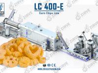 خط انتاج شيبس الذرة LC400-E