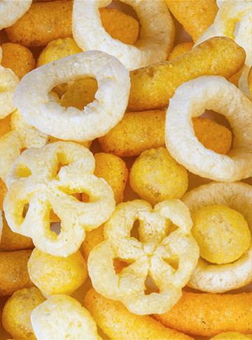 Линия по производству кукурузных чипсов